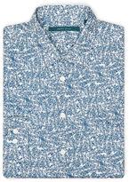 Perry Ellis Exclusive Scribble Print Shirt