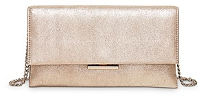 Loeffler Randall Tab Convertible Leather Clutch