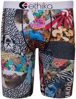 Ethika Men's The Staple What The Boxer Brief Underwear Multi-Color L