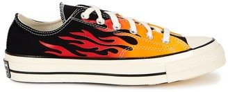 Converse Chuck 70 Flame-print Canvas Sneakers