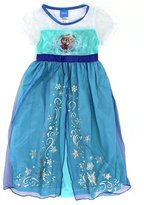 Disney Princess Girls Frozen Fantasy Nightgown Pajamas