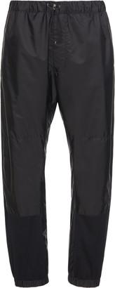 Prada Paneled Nylon Track Pants