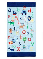 Pottery Barn Kids ABC Mini Beach Towel