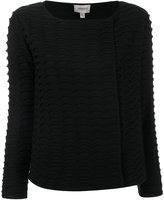 Armani Collezioni classic knitted sweater - women - Polyamide/Polyester/Wool - 40