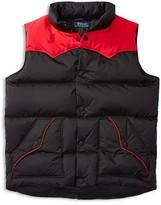 Ralph Lauren Boys' Colorblock Down Vest - Sizes S-XL