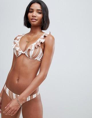 Zulu & Zephyr backroad cupped bikini in multi