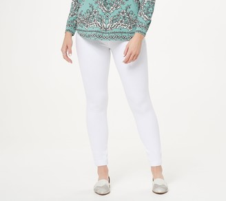 Belle by Kim Gravel Regular Flexibelle Back Zip Jegging