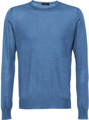 Prada Soft cashmere crew-neck sweater
