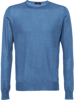 Prada Soft cashmere crew-neck sweater