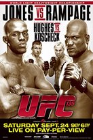 UFC 135 Jon Jones vs Quinton Rampage Jackson Sports Poster 12x18