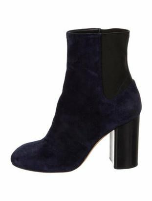 Rag & Bone Suede Chelsea Boots Blue