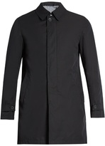 Herno Single-breasted Water-resistant Overcoat
