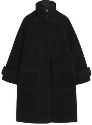 Arket A-Line Wool Coat