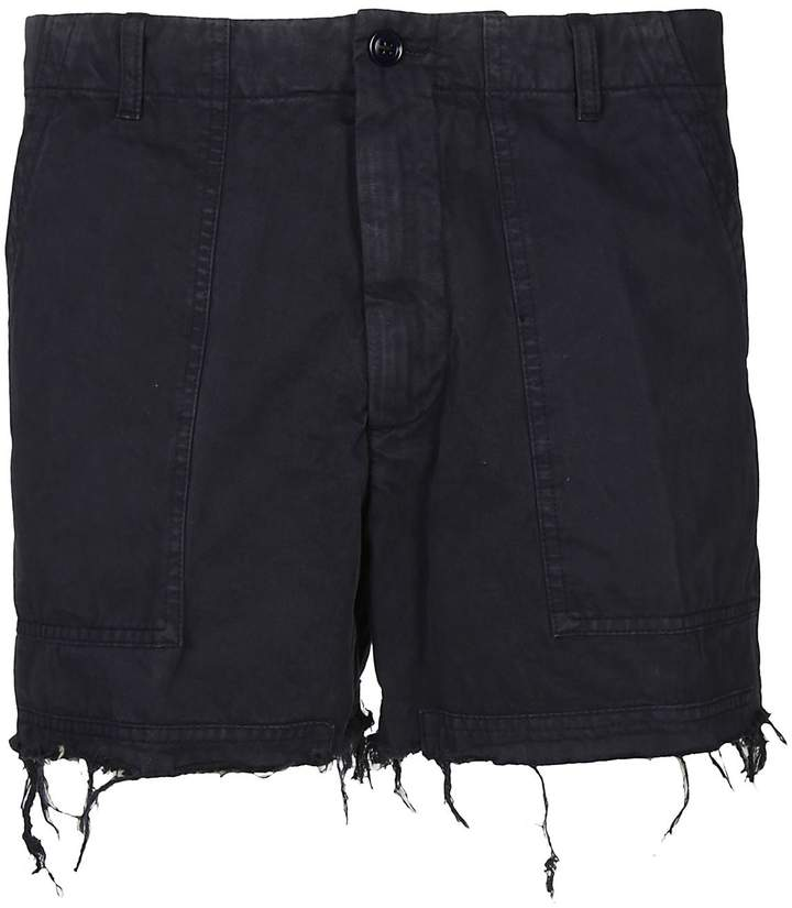 Dries Van Noten Cropped Shorts