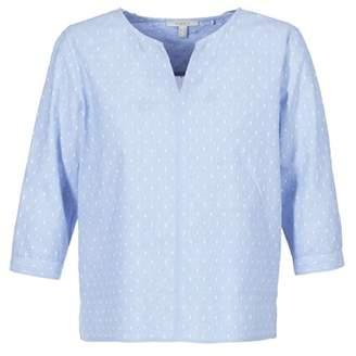 Esprit QOZA women's Blouse in Blue