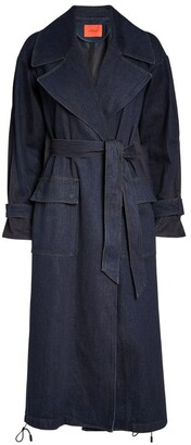 Max & Co. Denim Trench Coat