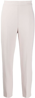 Pinko Cropped Slim Fit Trousers