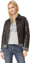 Golden Goose Deluxe Brand Bernhardt Leather Jacket