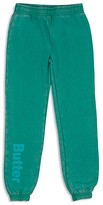 Butter Shoes Girls' Fleece Logo Sweatpants - Sizes 4-6