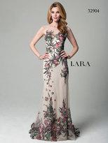 Lara Dresses - 32904 Long Dress In Tattoo