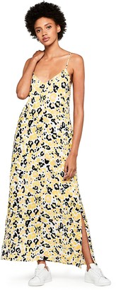 Find. Amazon Brand Women's Animal Print Maxi Summer Dress