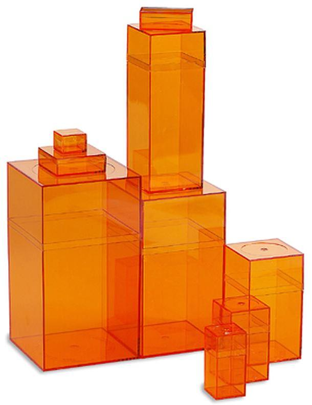 Container Store Amac Box Orange