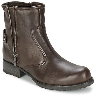 One Step IAGO women's Mid Boots in Brown