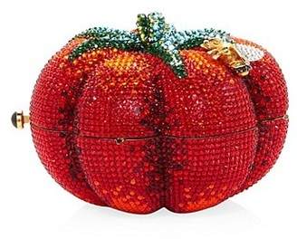 Judith Leiber Couture Heirloom Tomato Crystal Clutch