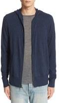 John Varvatos Men's Collection Merino Wool Zip Hoodie