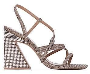 Mercedes Castillo Women's Kelise Crystal-Embellished Sandals