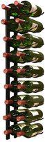 Bed Bath & Beyond Vintotemp® 18-Bottle Epic Metal Wine Rack in Black