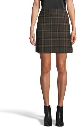 Nicole Miller Jagger Plaid Mini Skirt