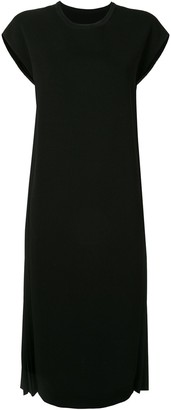 Juun.J Side Pleated Dress