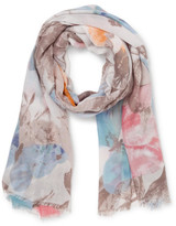 Gregory Ladner MULTI BUTTERFLY SCARF