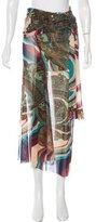 Jean Paul Gaultier Printed Wrap Skirt
