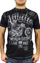 Affliction Death Machine Reversible Short Sleeve T-Shirt (XXXL)