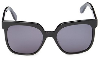 BCBGMAXAZRIA 55MM Gradient Square Sunglasses