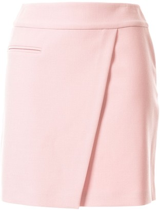 Paule Ka Diagonal Seam Mini Skirt