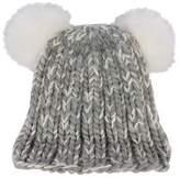 Eugenia Kim Fox Fur-Trimmed Wool Beanie