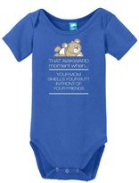 Sod Uniforms That Awkward Moment when... Your mom smells your butt in front of your friends Onesie Funny Bodysuit Baby Romper