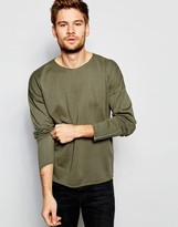 Asos Jumper With Zip Cuffs