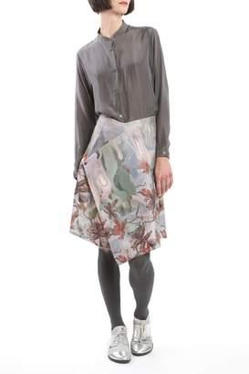 Clara Kaesdorf Skirt Modifiable Flower Red