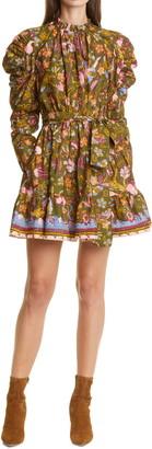 Ulla Johnson Naima Ruffle Long Sleeve Dress