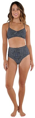 Carve Designs Erin Reversible Bottoms (Kima/Grove) Women's Swimwear