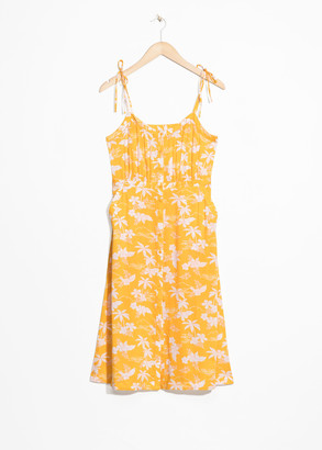 And other stories Tropical Print Sundress