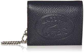 Lacoste Women's Leather Croc Chain Wallet Necklace