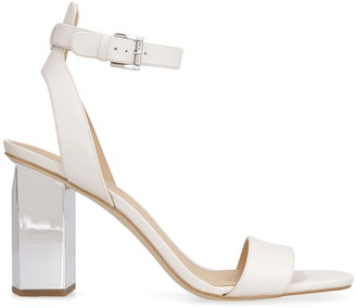 MICHAEL Michael Kors Petra Heeled Leather Sandals