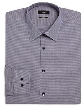 HUGO BOSS Boss Jano Puppytooth Slim Fit Dress Shirt