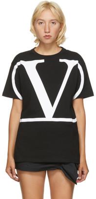 Valentino Black VLogo T-Shirt