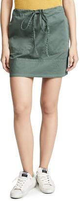 Theory Women's Stitched Pocket Mini Skirt